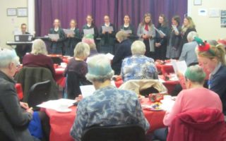 Candlelight Care Clients Entertained by Bruton School for Girls' Chamber Choir